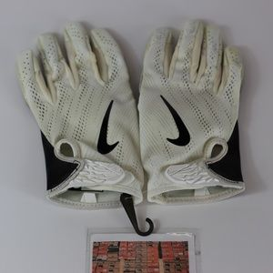 Nike PE Vapor Knit Gloves Size 2XL Receiver White